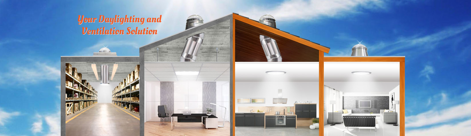 Commercial Tubular Skylights