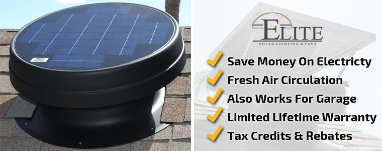 Solar Attic Fans Phoenix - Elite Solar Lighting & Fans