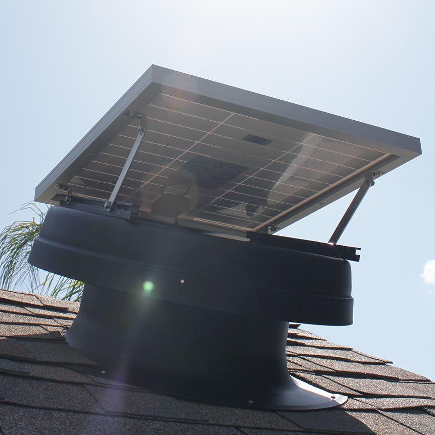 Solar Attic Fan Installation Phoenix