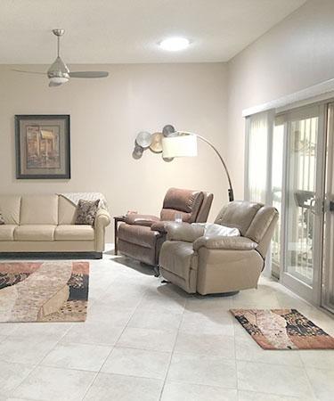Living Room Solar Tubes